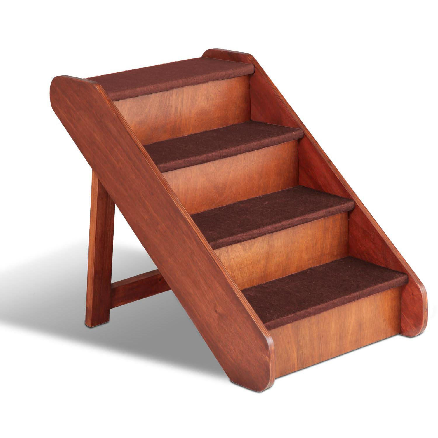 Merveilleux Solvit PupSTEP Large Wood Pet Stairs | Petco