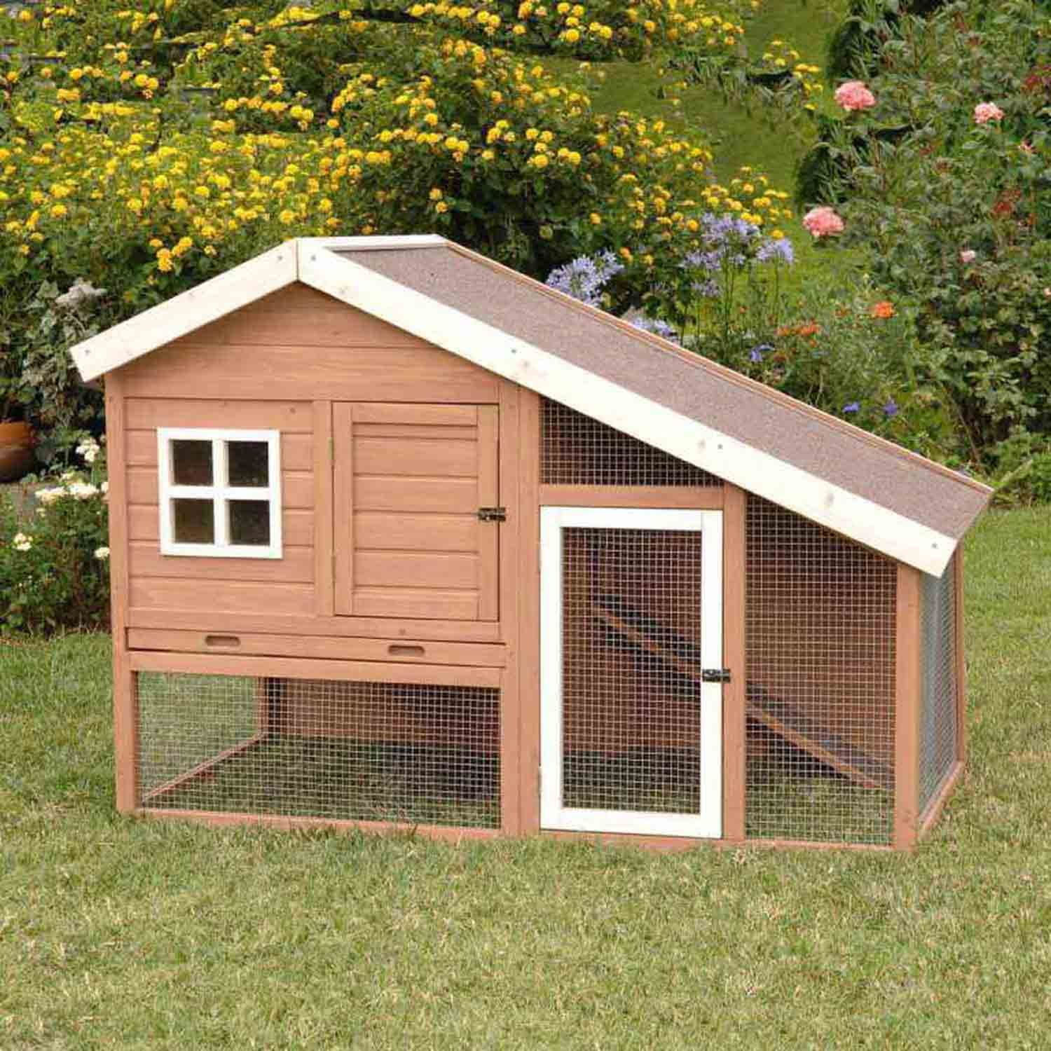 rabbit hutches outdoor u0026 indoor rabbit u0026 bunny hutches petco