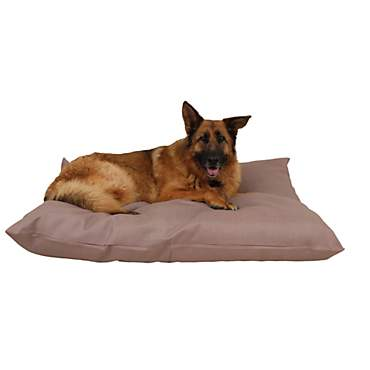 Carolina Pet Company Tan Indoor Outdoor Shebang Dog Bed