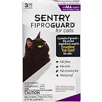 Sentry FIPROGUARD Cat & Kitten Topical Flea & Tick Treatment