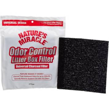 Nature S Miracle Universal Odor Control Cat Litter Box Filters