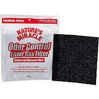 Nature's Miracle Universal Odor Control Cat Litter Box Filters