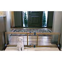 carlson pet products design studio wood deco pet gate - Carlson Pet Products