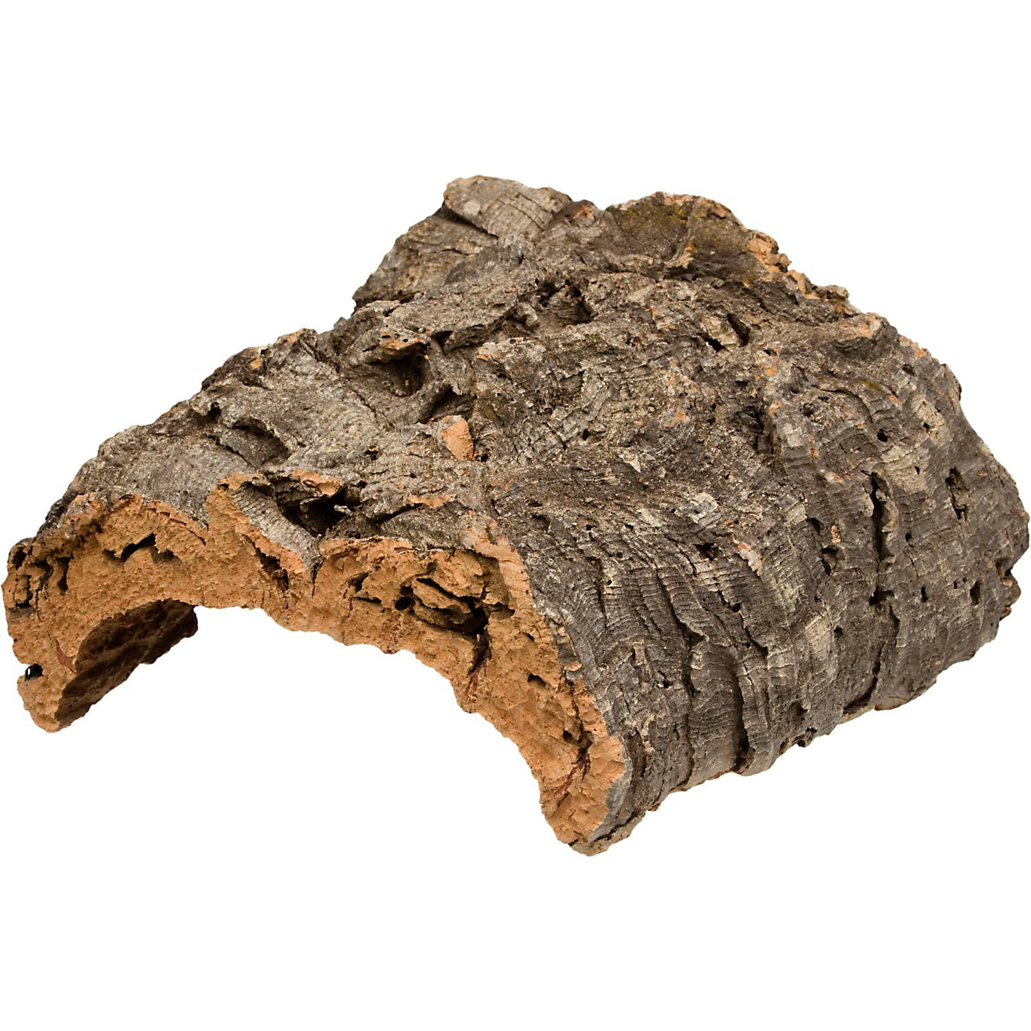Zoo Med Natural Cork Flat Reptile Terrarium Background Petco