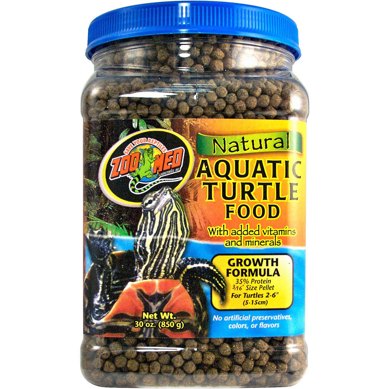 Zoo Med Aquatic Turtle Food Growth Formula 30 Oz.