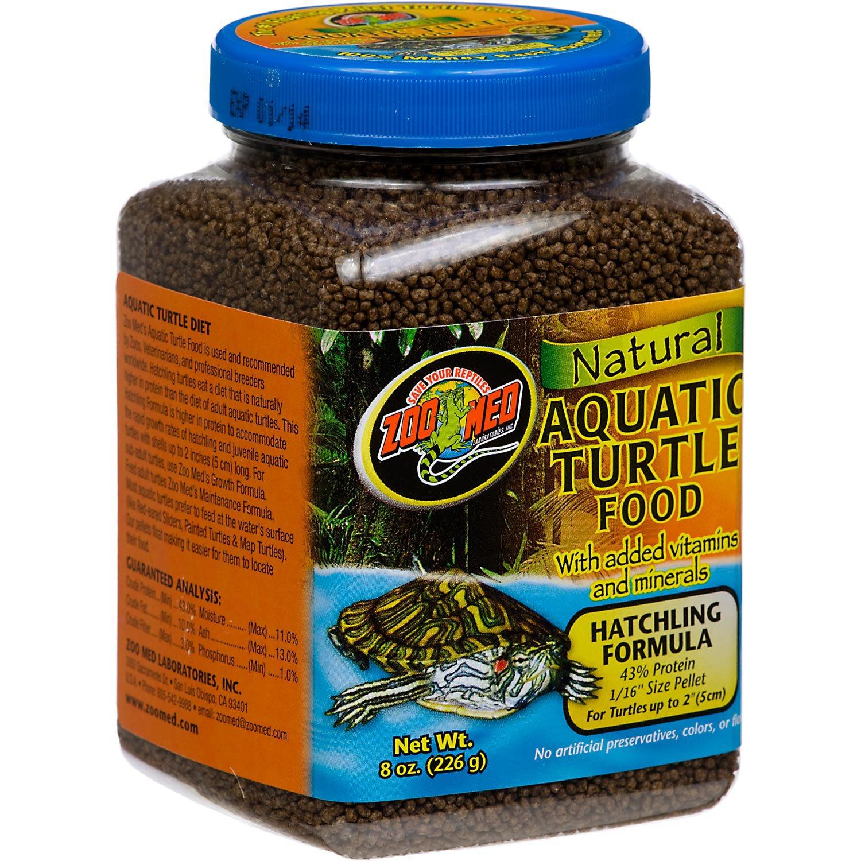 Zoo Med Natural Hatchling Formula Aquatic Turtle Food | Petco