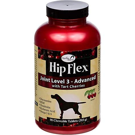 Overby Farm Hip Flex Joint Level 3 Advanced Dog Hip & Joint Supplement