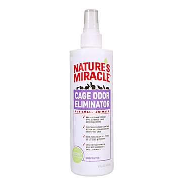 Nature's Miracle Cage Odor Eliminator for Small Animals