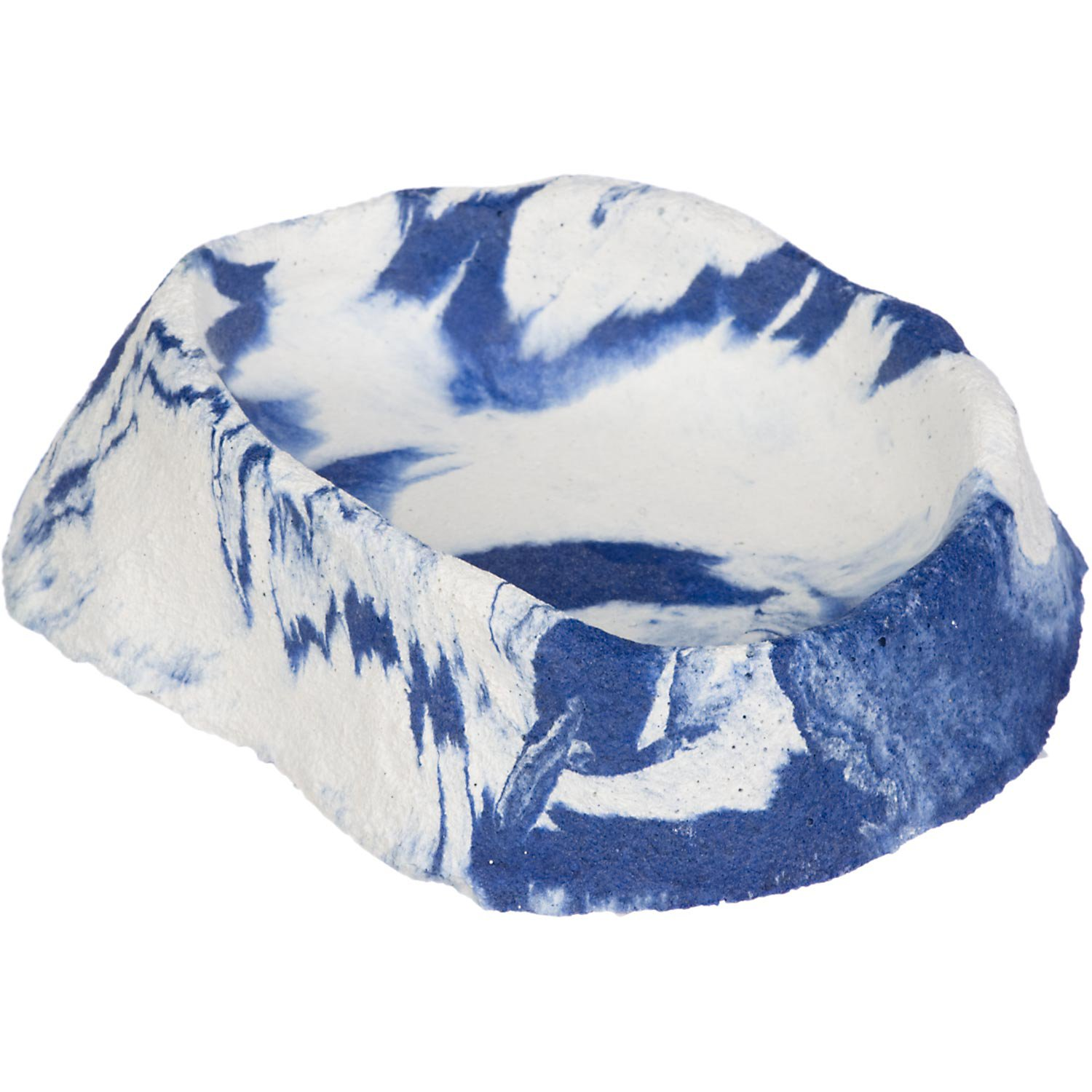 "Image of ""Conceptual Creations Glow Bowl Reptile Dish, 4.25"""" L X 3.5"""" W X 1.25"""" H, 4.25 IN, Blue"""