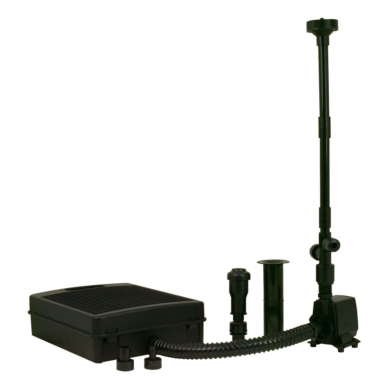 Tetrapond pond filtration fountain kits petco for Pond kits supplies