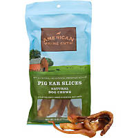 American Prime Cuts Pig Ear Slices Dog Chews
