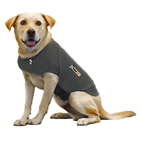 Thundershirt Heather Gray Dog Anxiety Solution Petco