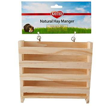 Kaytee Small Animal Natural Hay Manger Feeder