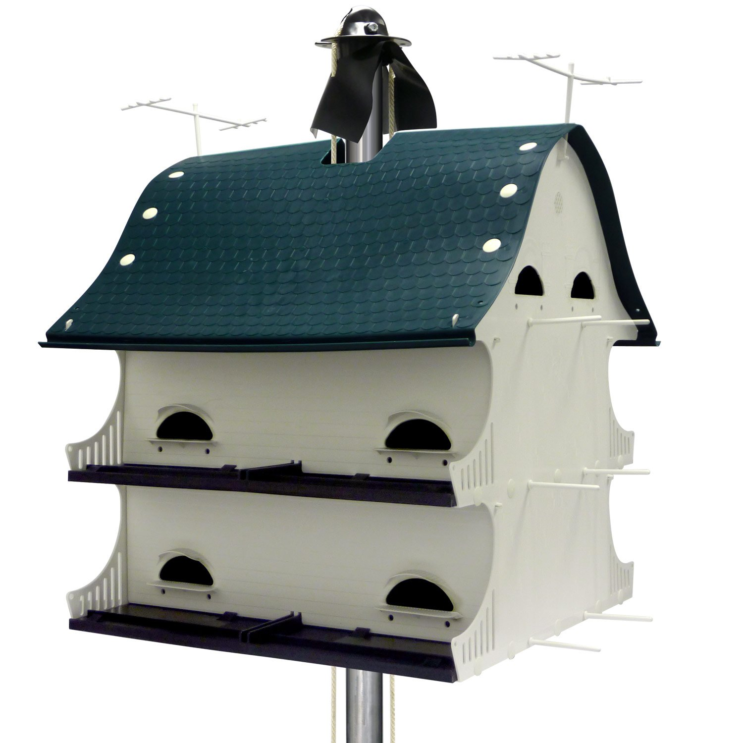 S k manufacturing american barn purple martin house petco for Martins fish house