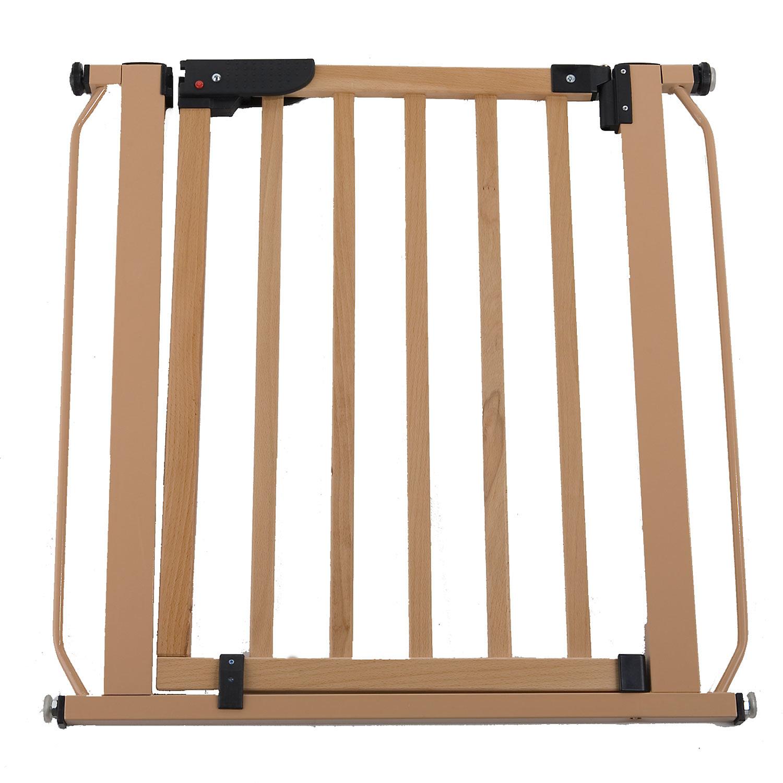 Cardinal Gates Wood Auto-Lock Pressure Pet Gate, Tan
