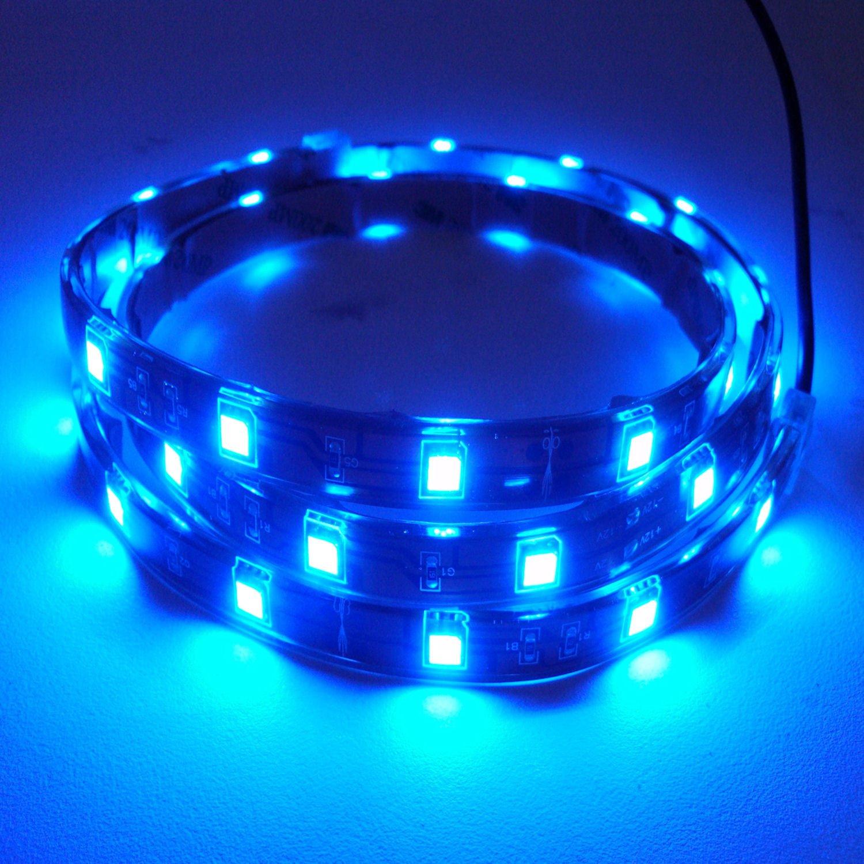 Hamilton technology blue led aquarium accent light strip for Led fish tank light