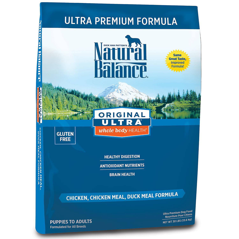 Natural Balance Original Ultra Whole Body Heallth Dog Food 30 Lbs 30 Lbs.