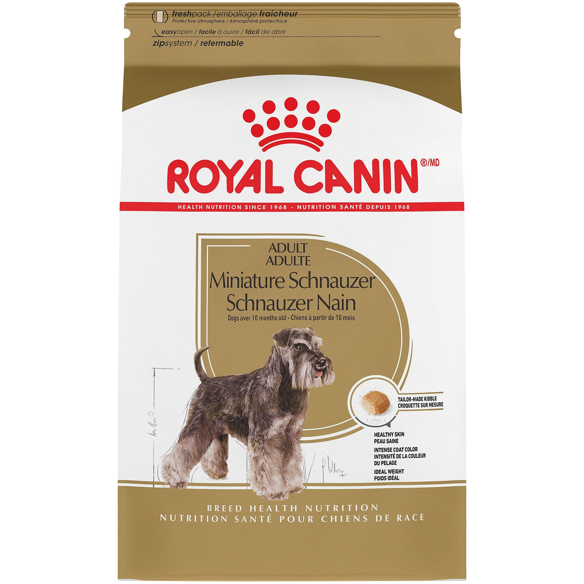 Royal canin miniature schnauzer food review