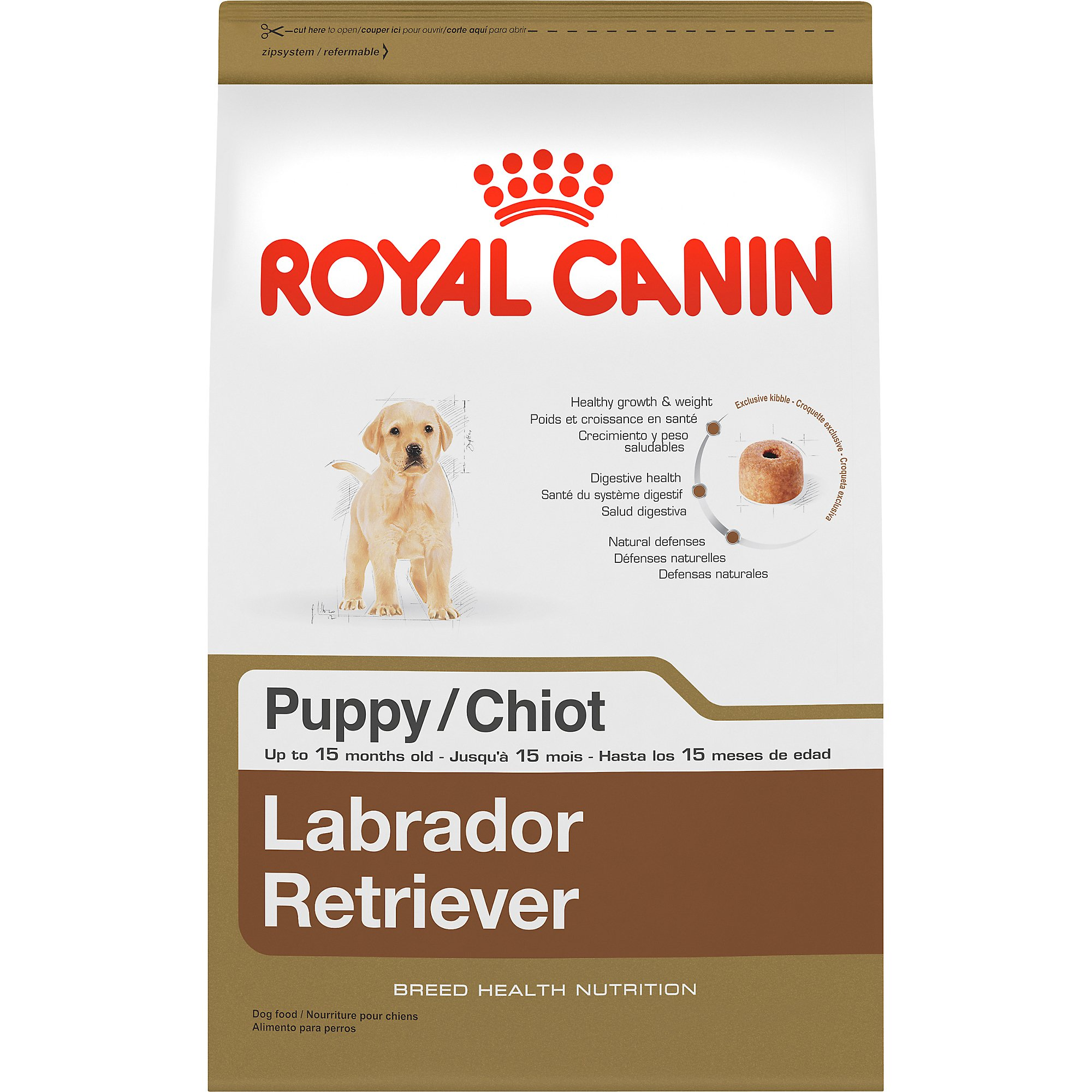 Royal Canin Breed Health Nutrition Labrador Retriever Puppy Dry