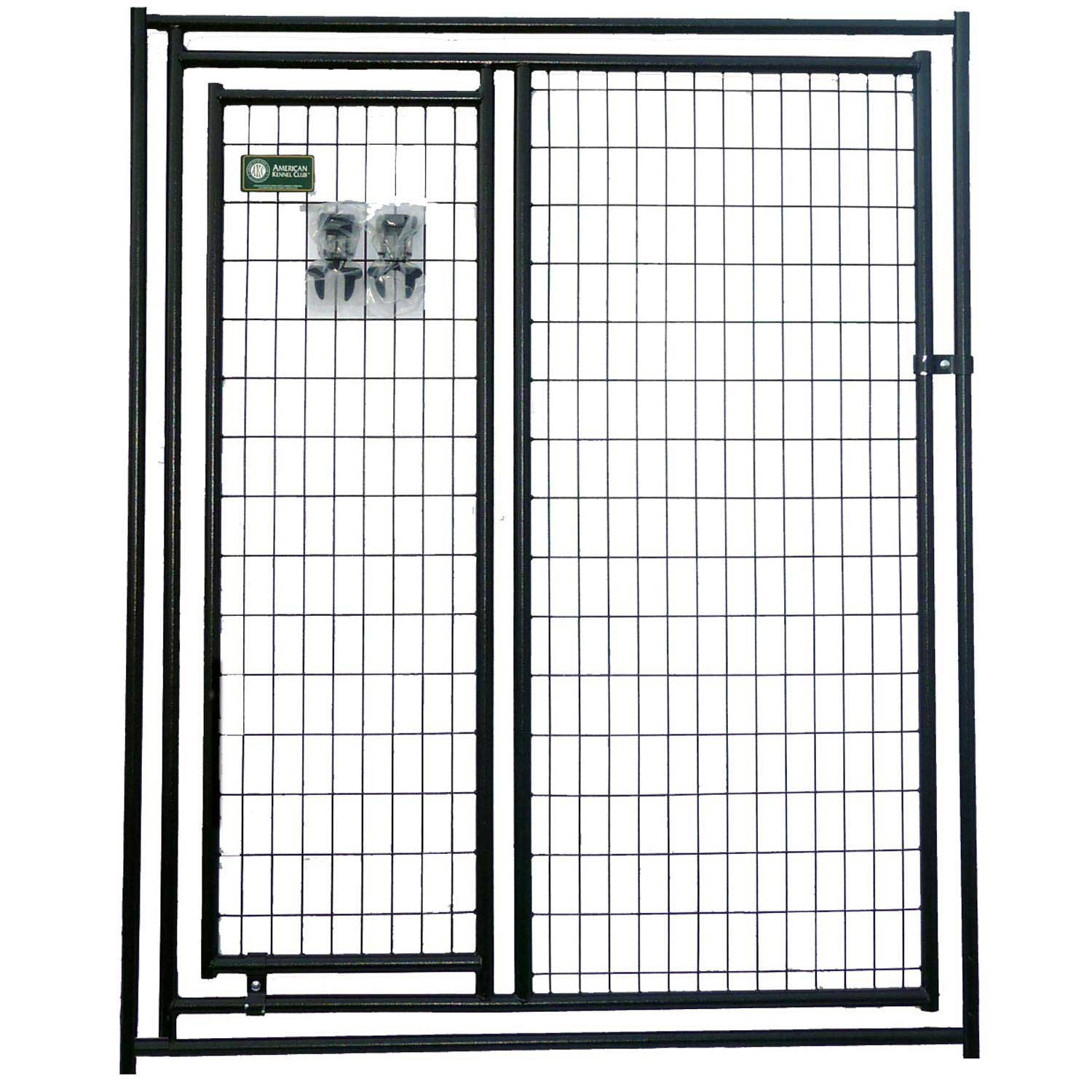 Attirant Lucky Dog Kennel Gate In A Gate | Petco