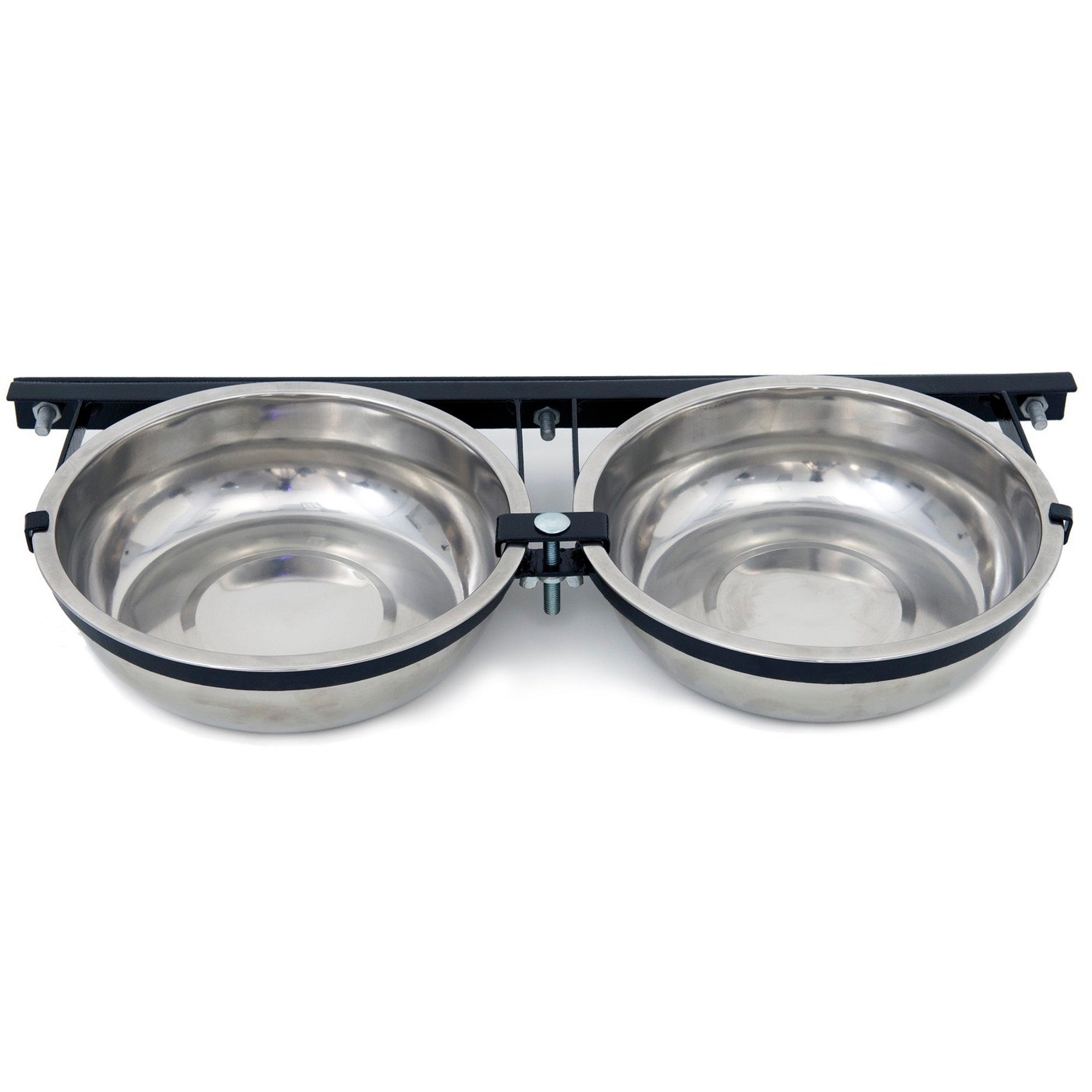 Lucky Dog Probreeder Static 2 Bowl Kennel Dog Bowls Petco