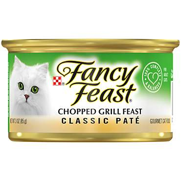 Purina Fancy Feast Classic Chopped Grill Feast Wet Cat Food