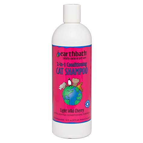 Earthbath Conditioning Formula with Aloe Vera Totally Natural Cat Shampoo