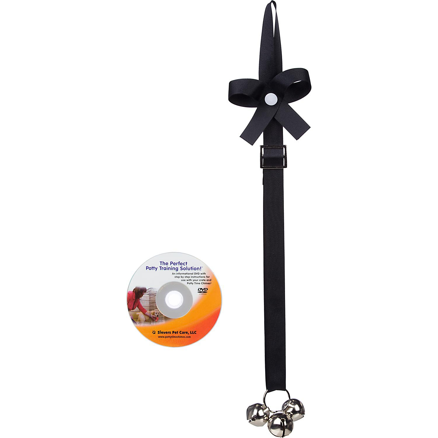 "Image of ""Sievers Pet Care Potty Time Chimes in Black, 30"""" Length, 30 IN"""