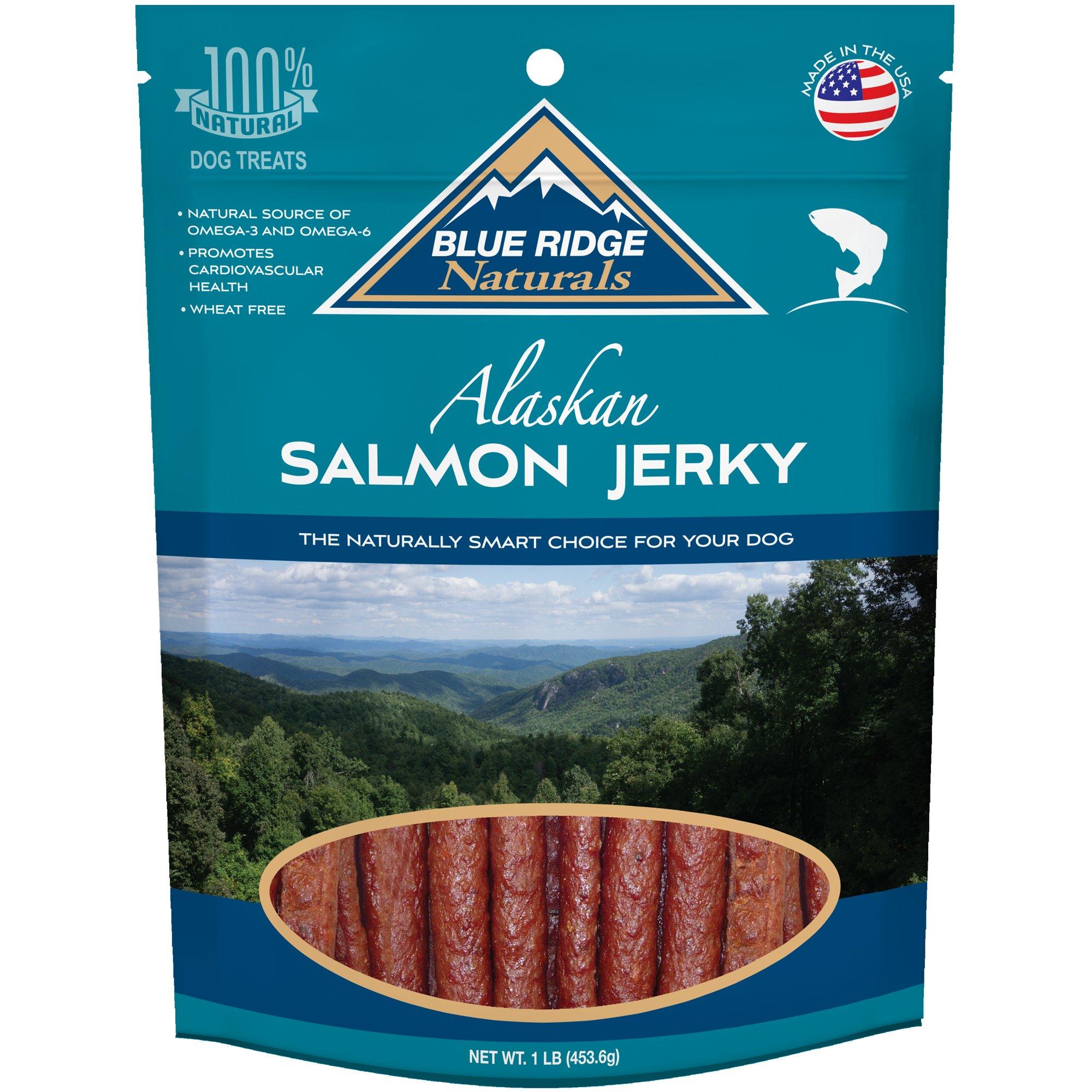 Blue Ridge Naturals Oven Baked Salmon Jerky Dog Treats