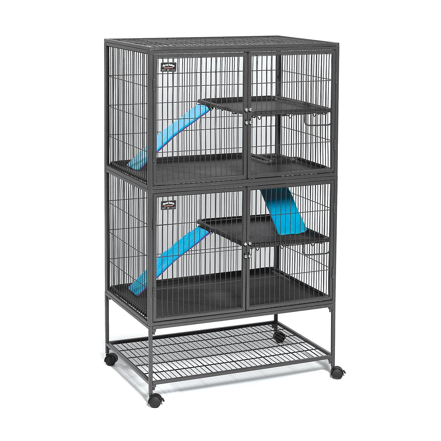 Midwest Ferret Nation Double Unit With Stand Ferret Cage