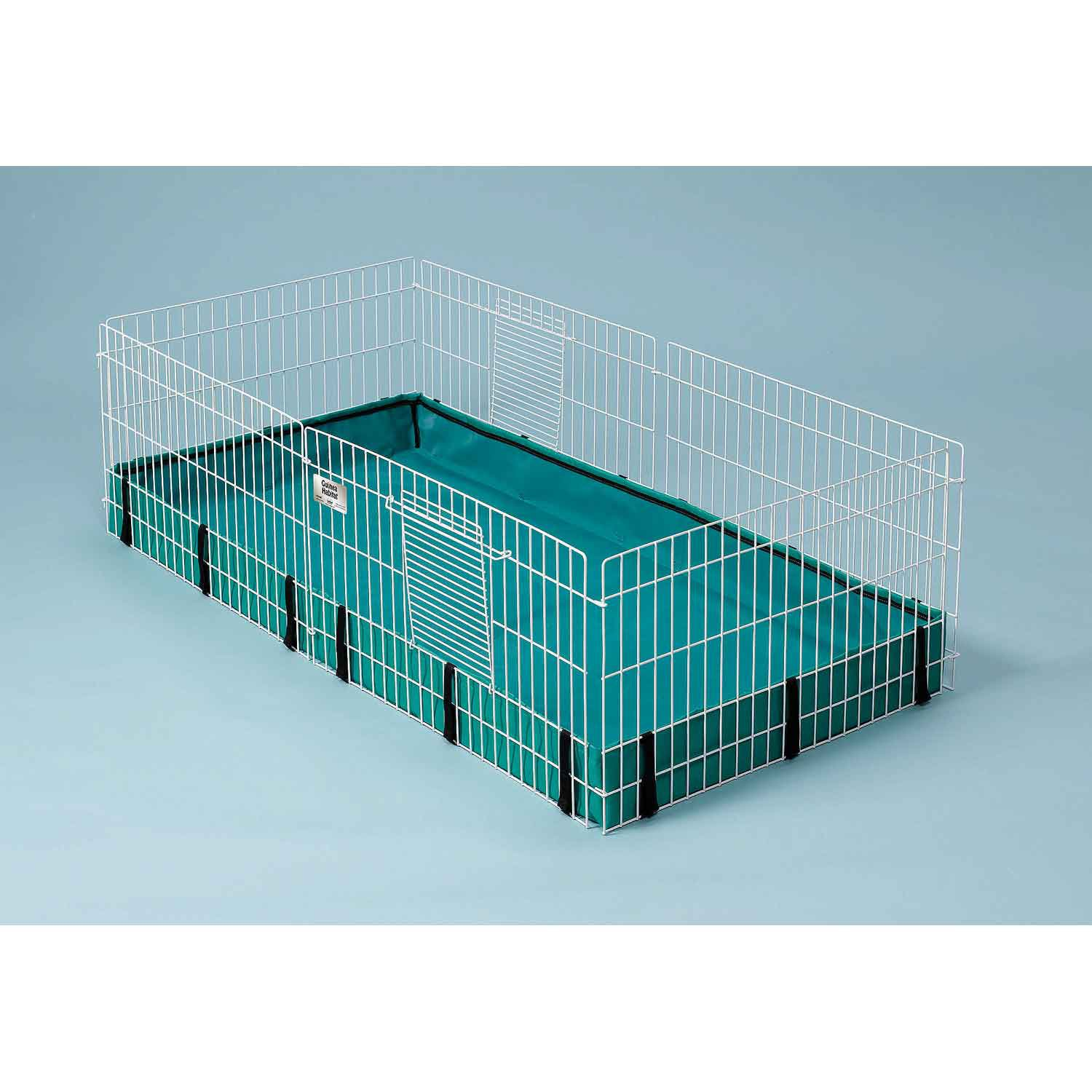 Heavyweight wire dog crates feature two doors Easy-to-clean, side-out plastic pan These collapsible dog crates are assembled and easy to set up.