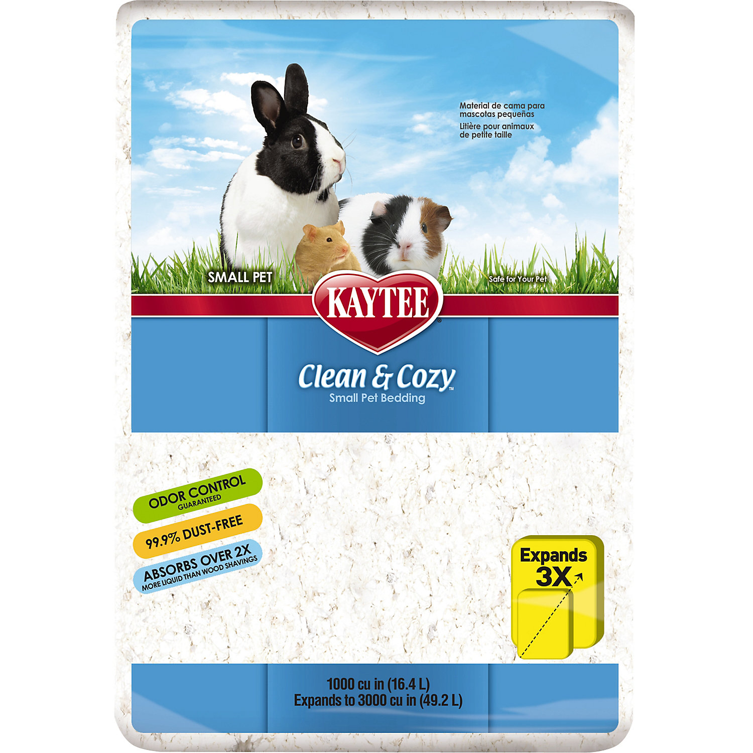 Kaytee Clean Cozy Small Animal Bedding 1000 Cu. In.