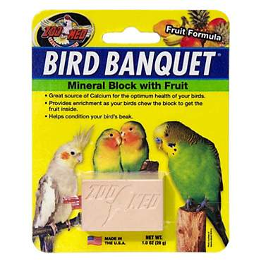 Zoo Med Fruit Bird Banquet Block