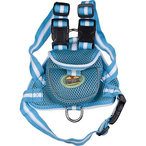 Pet Life Blue Backpack Dog Harness