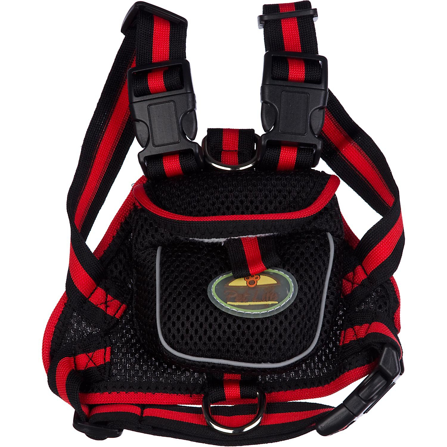 Pet Life Black Backpack Dog Harness | Petco