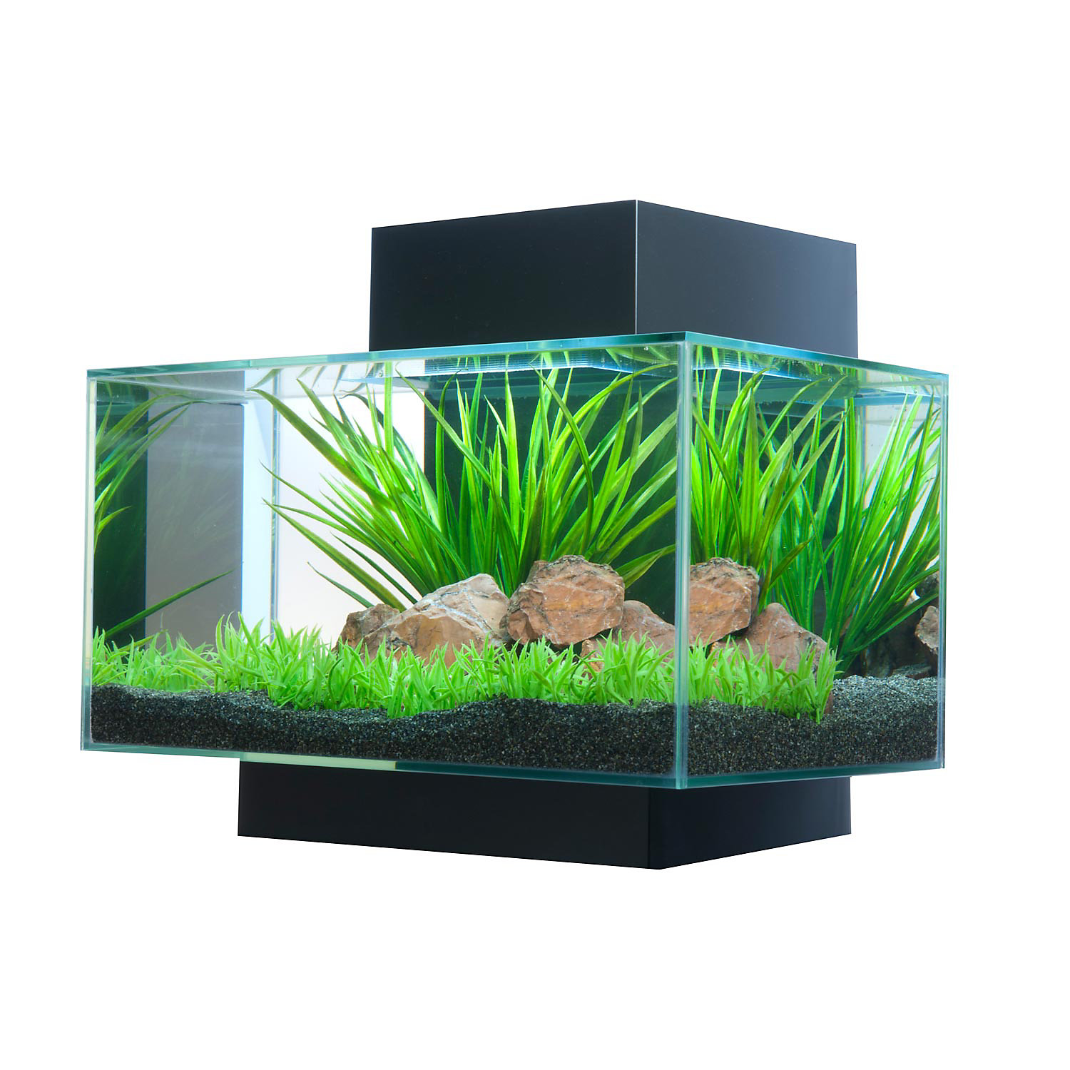 Fluval Edge Aquarium Black 21 Led 6 Gallon