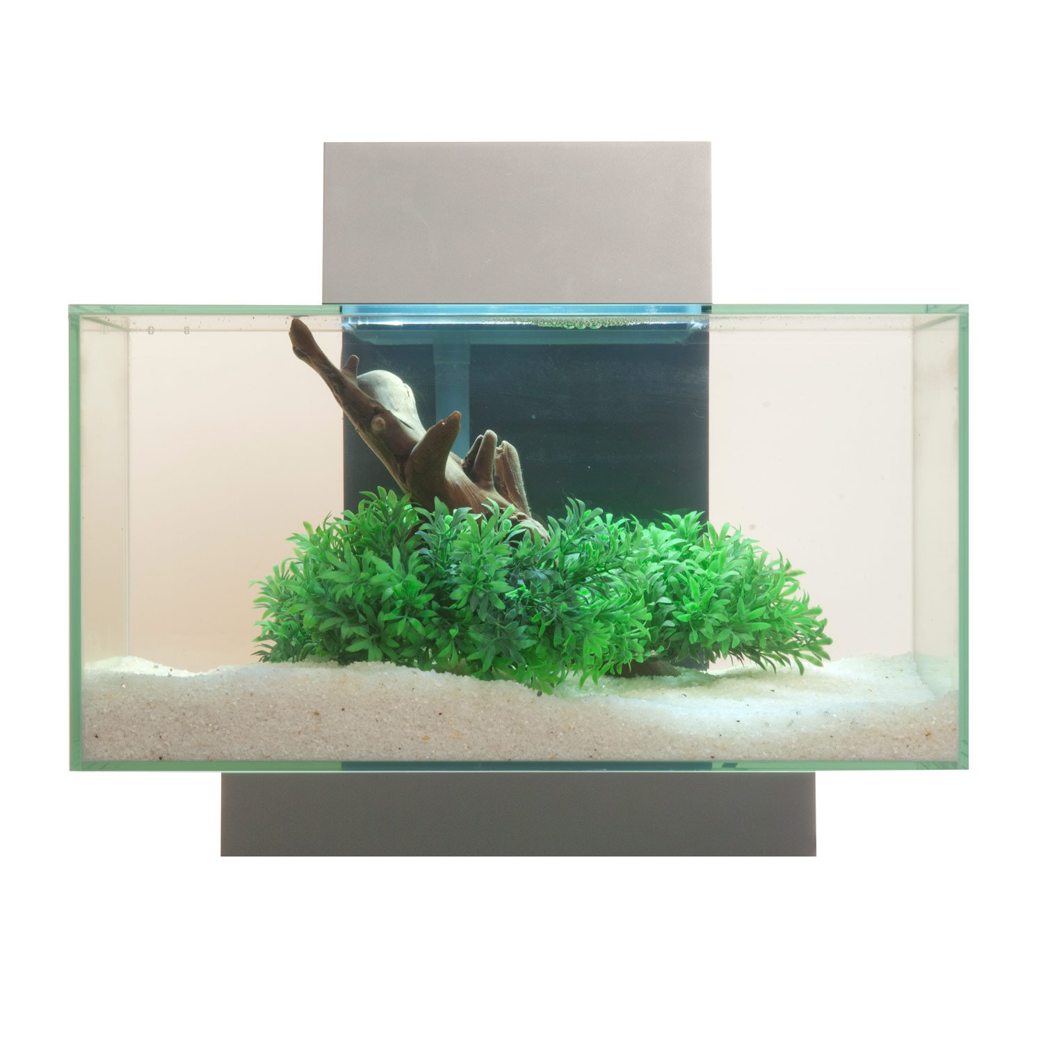 Aquarium fish tank starter kit - Fluval Edge Aquarium Kit In Silver