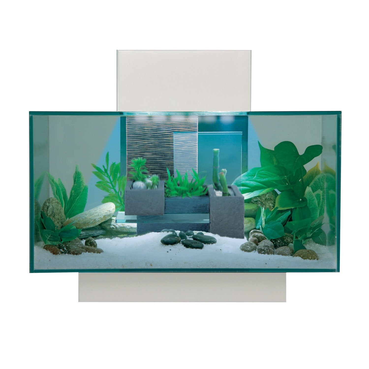 Fish tank tv stand - Fluval Edge Aquarium Kit In White