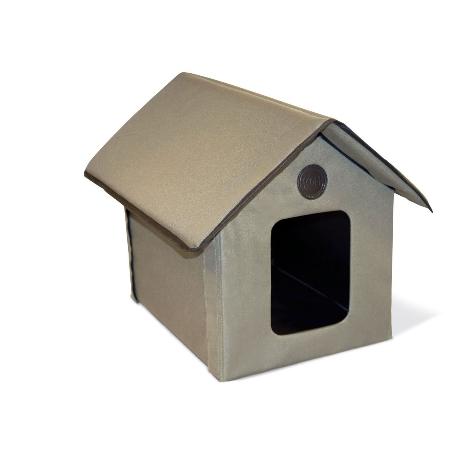 Cat House Outdoor Cat House Kh Outdoor Kitty House In Olive Petco