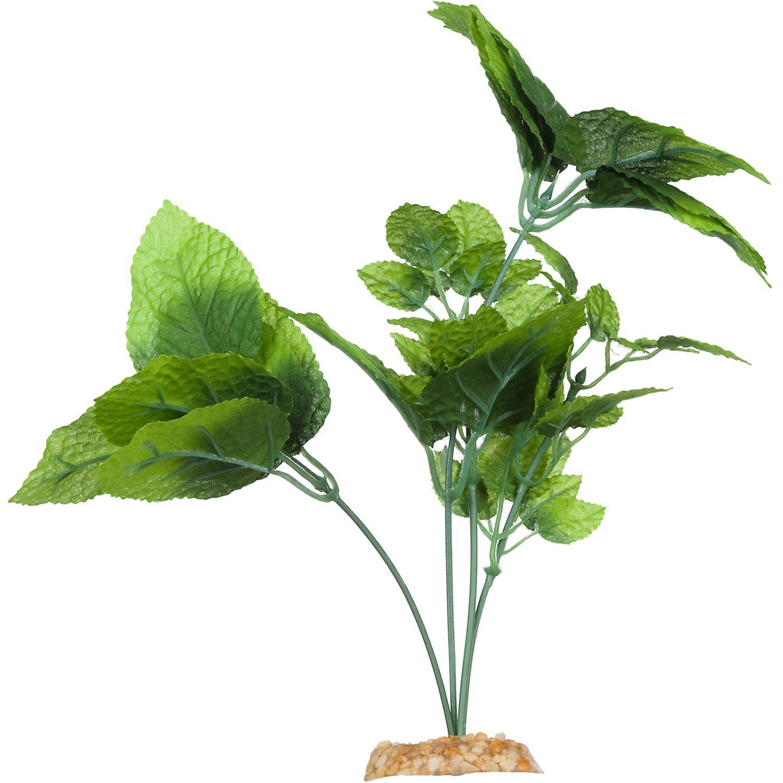 Imagitarium natural green silk aquarium plant petco for Petco tropical fish