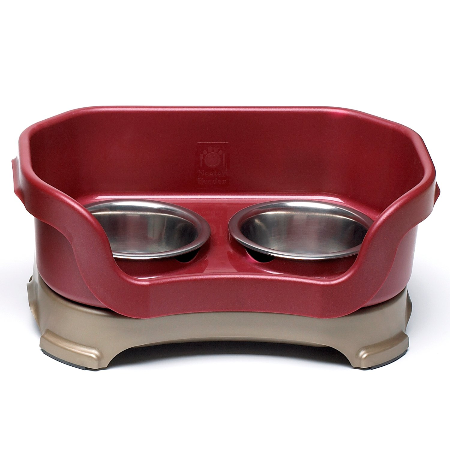 Neater Brands Cranberry Elevated Cat Diner Petco