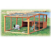Trixie Natura Peaked Roof Outdoor Rabbit Run with Shelter