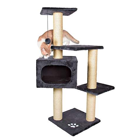 Trixie Palamos Cat Tree in Anthracite