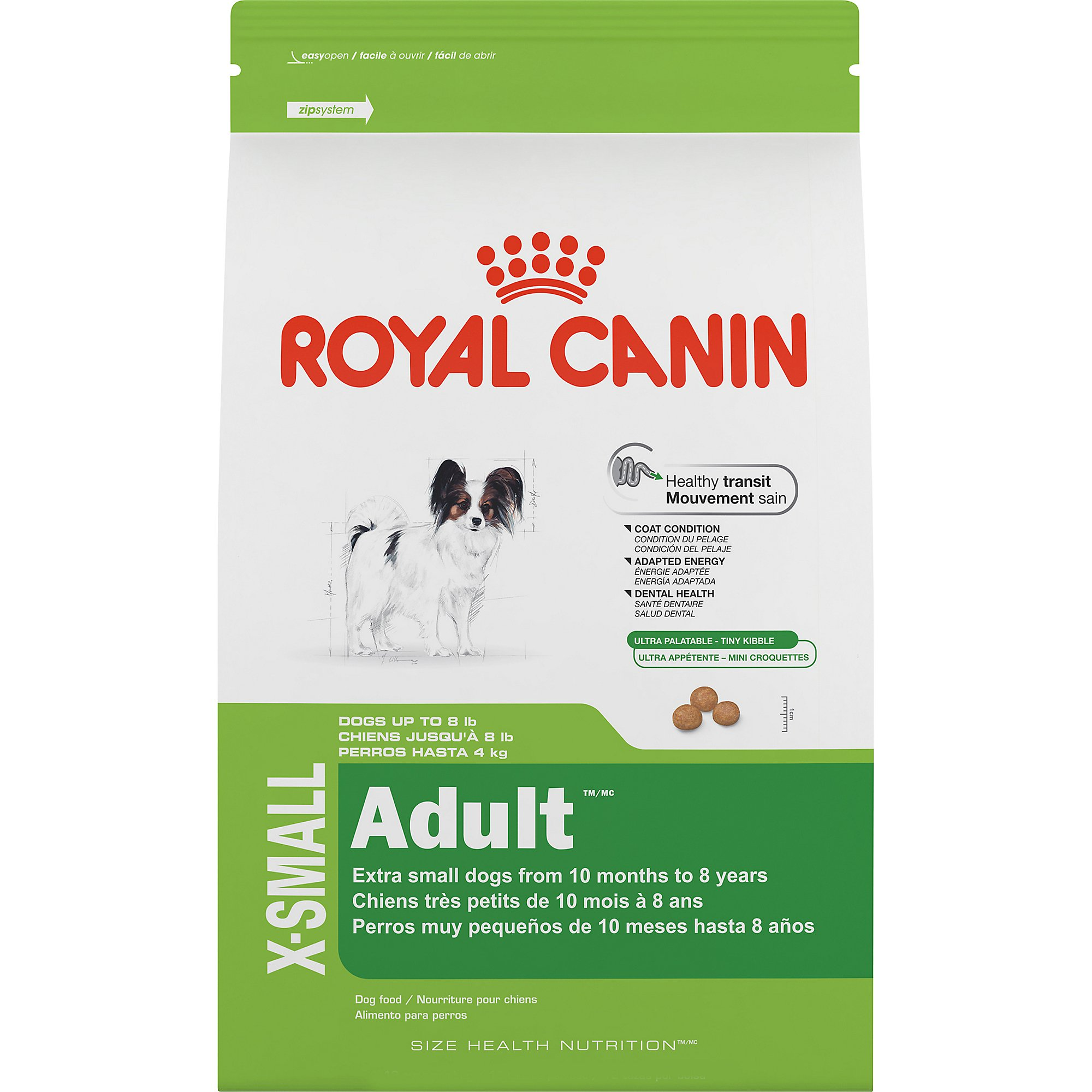royal canin size health nutrition x small adult dry dog food petco. Black Bedroom Furniture Sets. Home Design Ideas