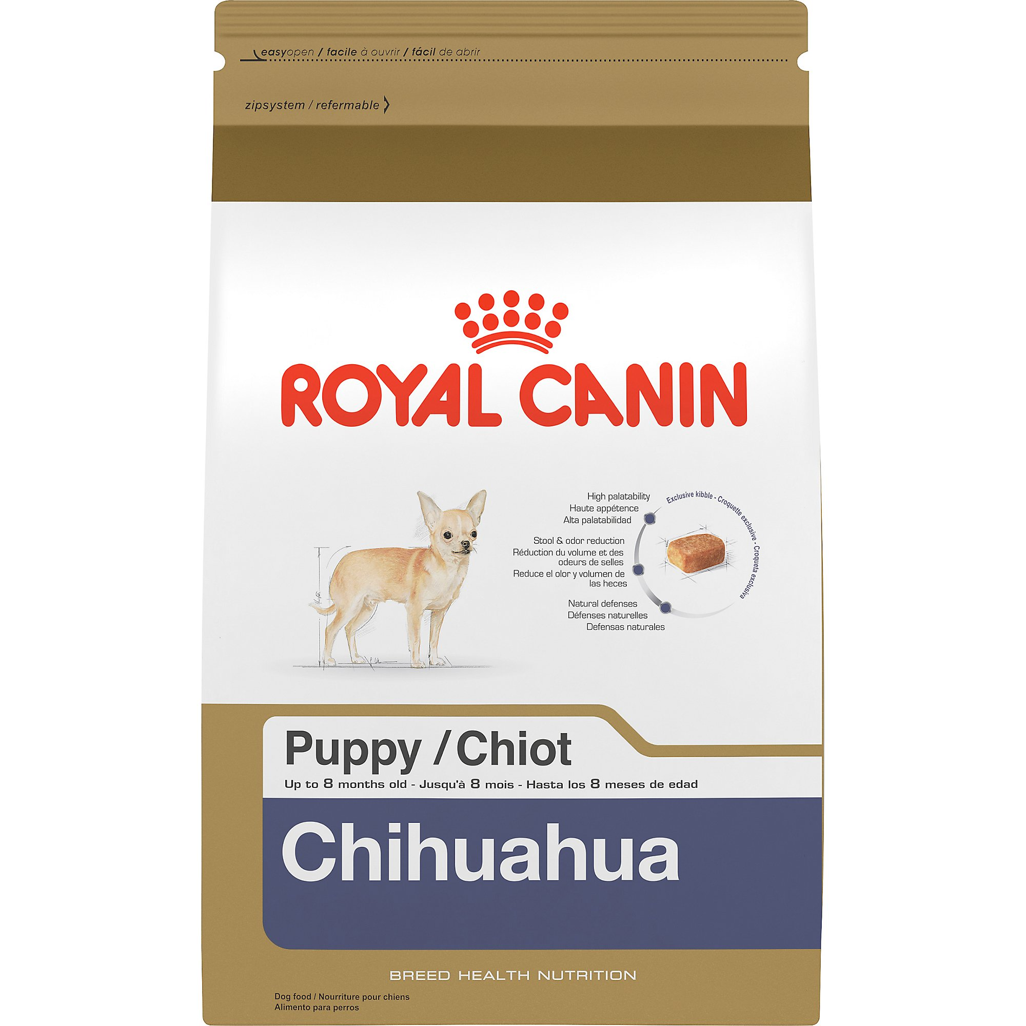 royal canin chihuahua puppy dry dog food 2 5 pound bag by royal canin bunte. Black Bedroom Furniture Sets. Home Design Ideas