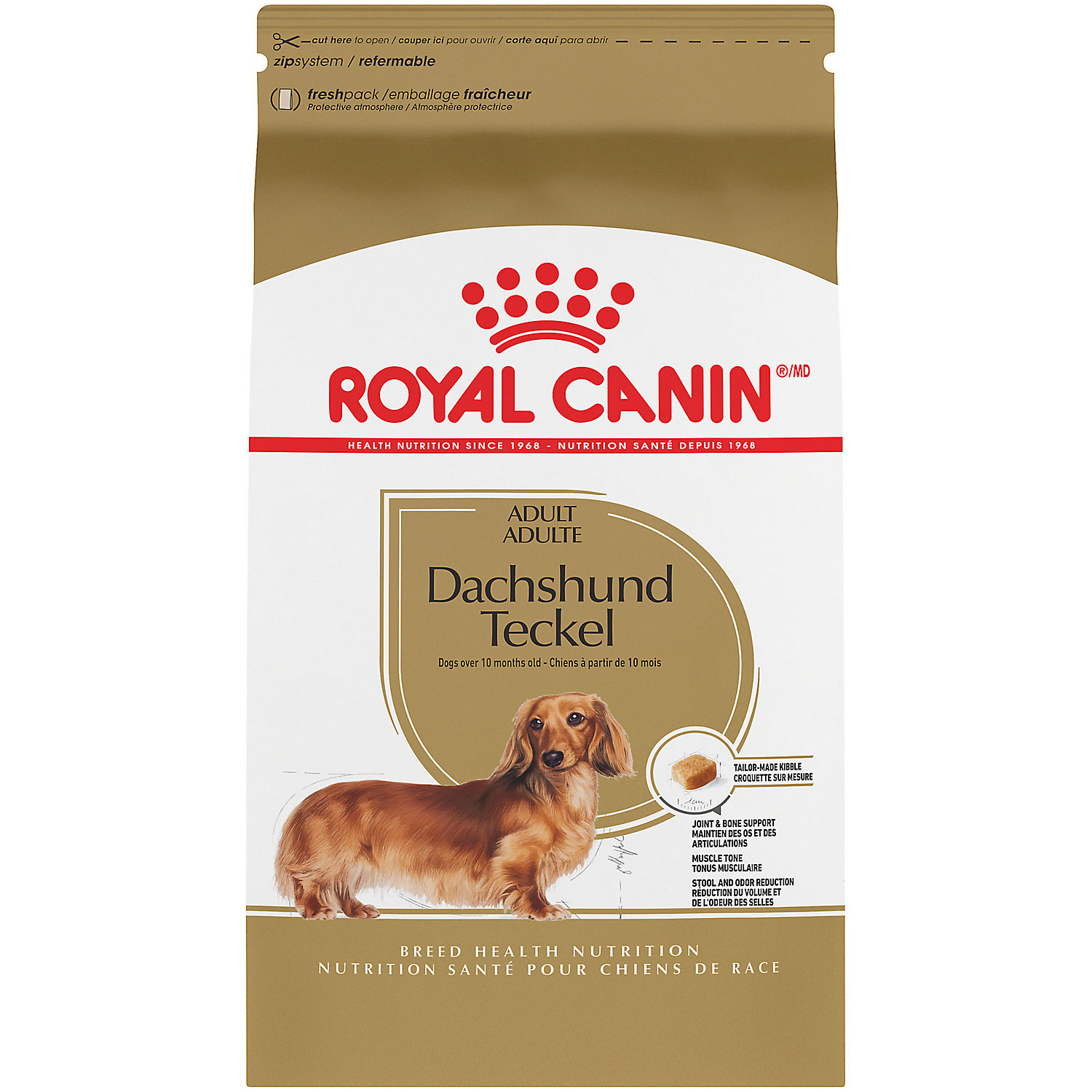upc 030111451613 royal canin mini canine health nutrition dachshund 28 10 lbs. Black Bedroom Furniture Sets. Home Design Ideas