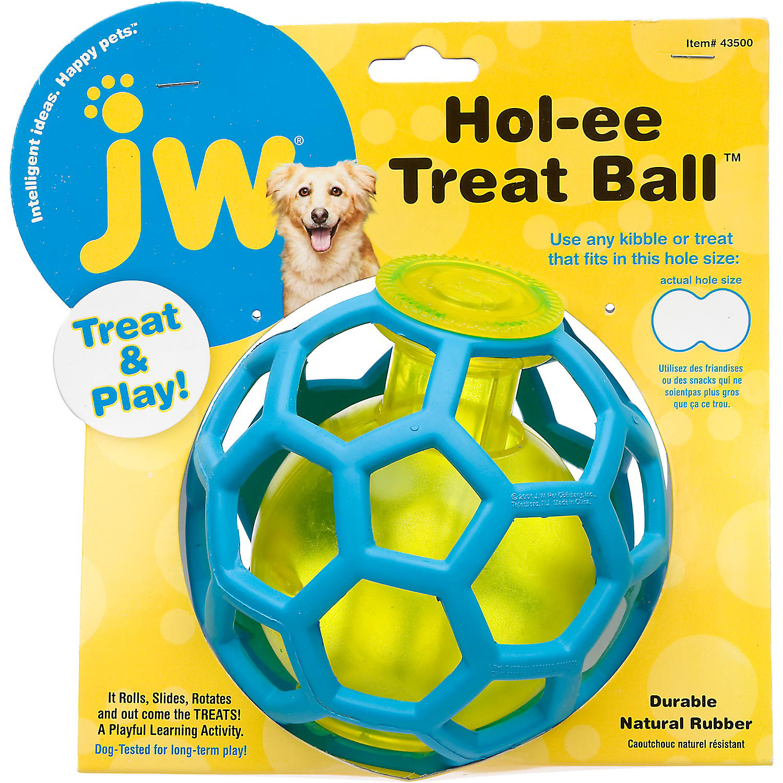 Jw Pet Hol Ee Treat Ball Dog Toy