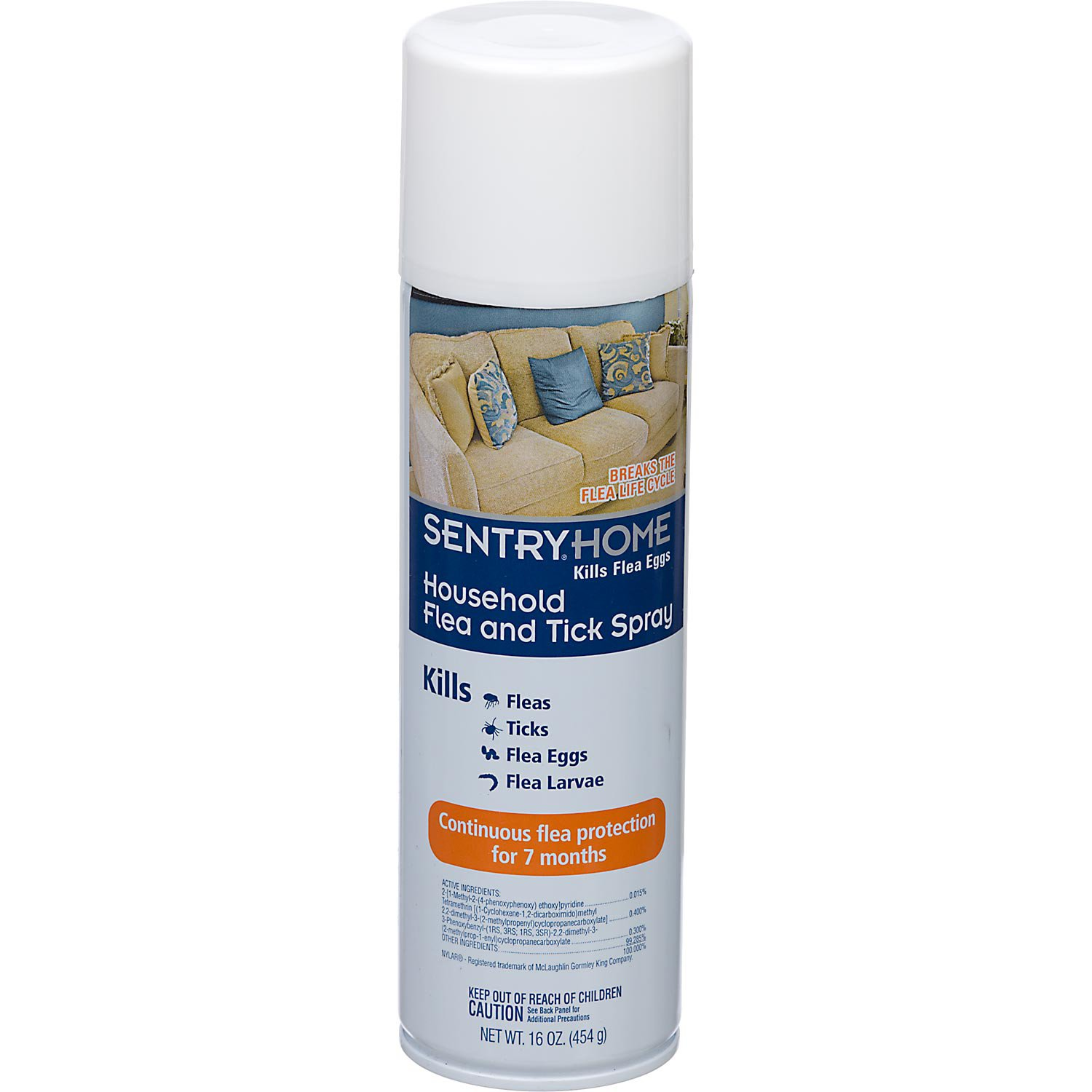 SentryHome Household Flea & Tick Spray | Petco