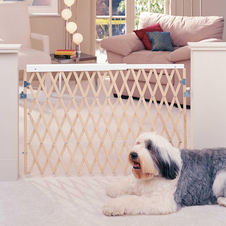 Dog Pet Gates Tall Wooden Extra Wide Dog Gates