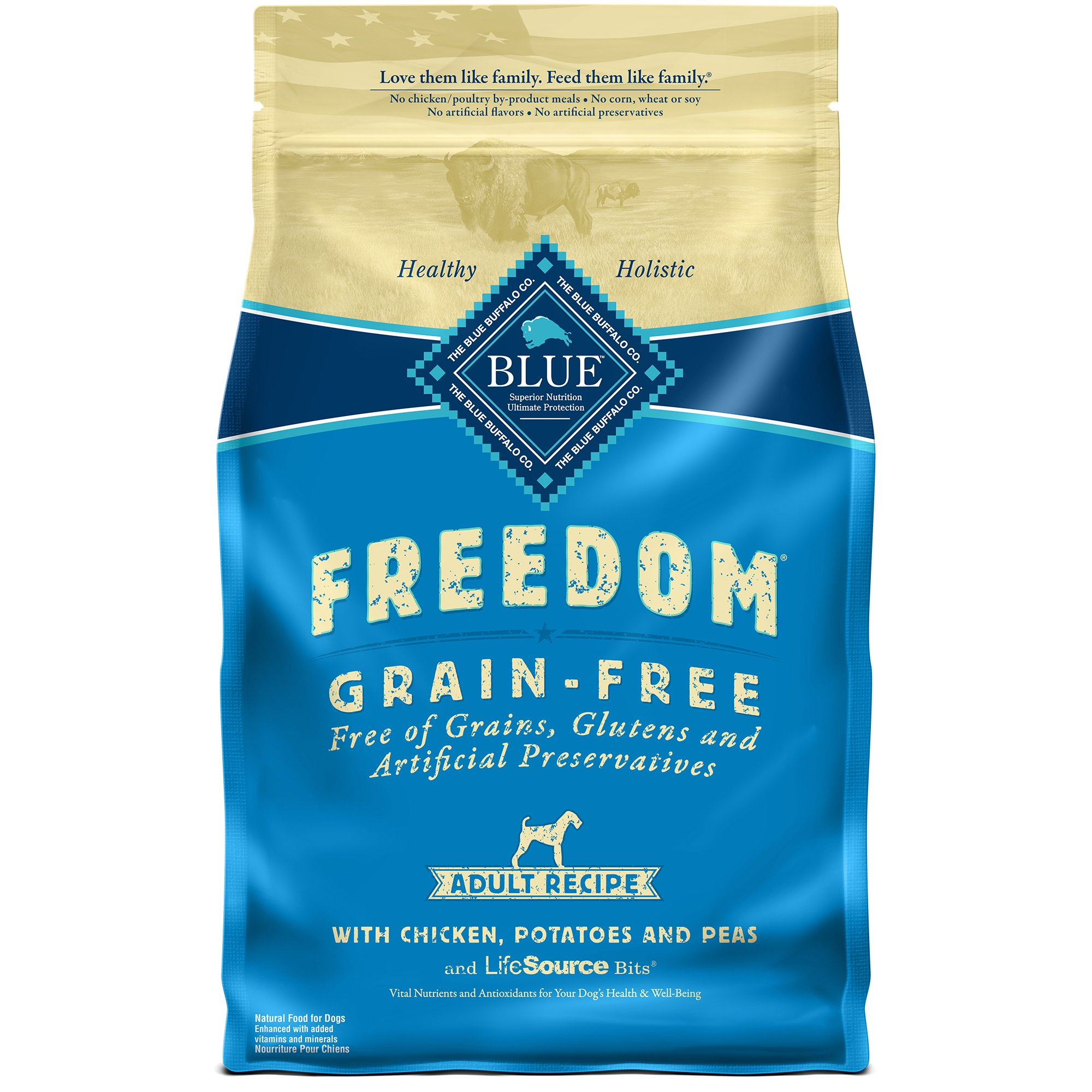 Because we love our pets like family, we want to feed them like family. At BLUE, we make our foods using the finest natural ingredients enhanced with vitamins and minerals. Discover a variety of healthy, holistic foods formulated for dogs and cats of all ages, breeds, and dietary needs.